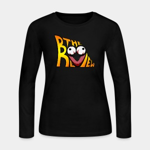 The Boo Review Icon (Gradient Pattern) - Women's Long Sleeve Jersey T-Shirt