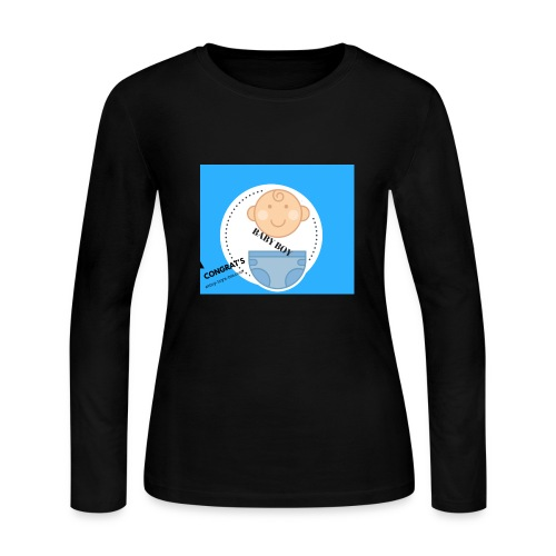 BABY ON BOARD 2 - Women's Long Sleeve Jersey T-Shirt
