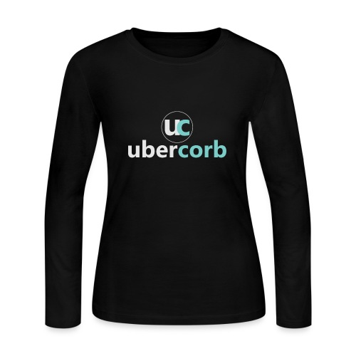 Vertical Logo Set - Women's Long Sleeve Jersey T-Shirt