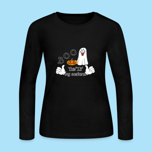 Boo This is My Costume - Women's Long Sleeve Jersey T-Shirt