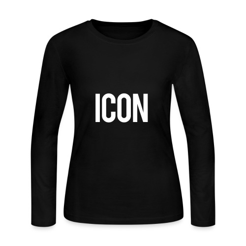 Icon - Women's Long Sleeve Jersey T-Shirt