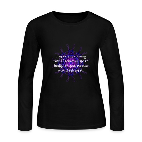 Dreamy Designs 2 - Women's Long Sleeve Jersey T-Shirt