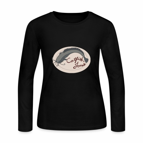 Fish Painting - Women's Long Sleeve Jersey T-Shirt