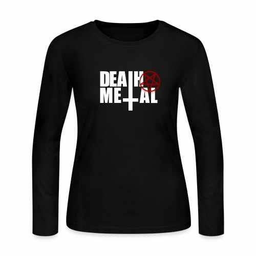 Death metal! - Women's Long Sleeve Jersey T-Shirt