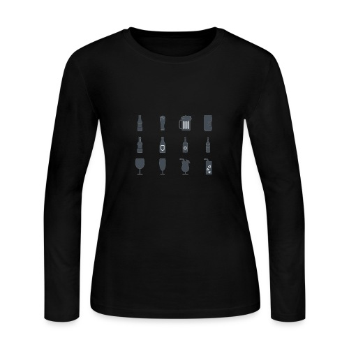 Alcohol - Women's Long Sleeve Jersey T-Shirt