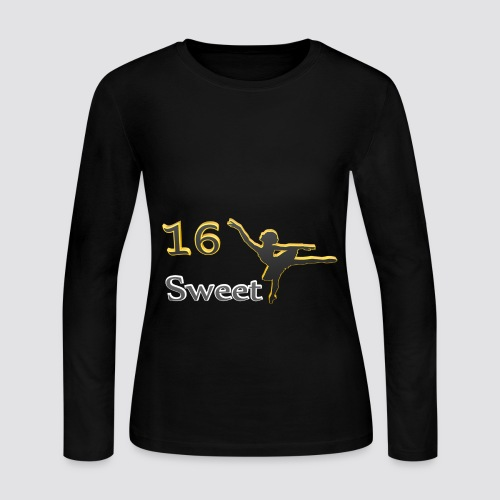 Sweet Sixteen - Women's Long Sleeve Jersey T-Shirt