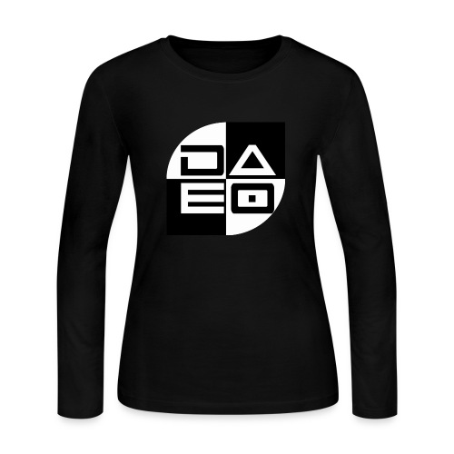 DAE0 logo with pointed edges - Women's Long Sleeve Jersey T-Shirt