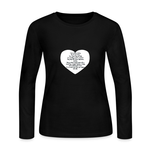 Reborn mommy shirt - Women's Long Sleeve Jersey T-Shirt
