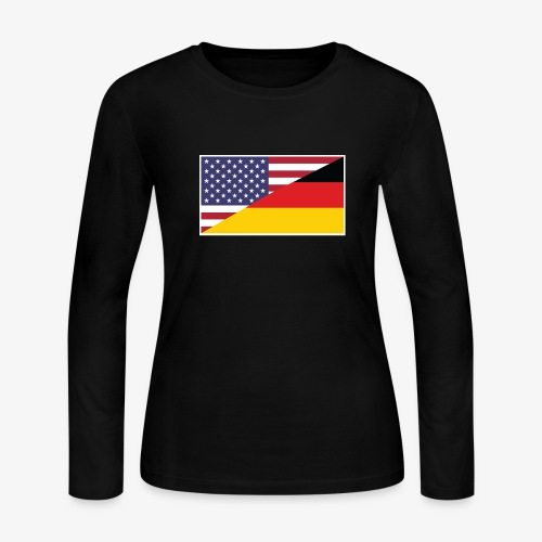 german american - Women's Long Sleeve Jersey T-Shirt