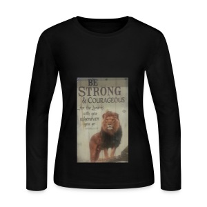 lion updates picture - Women's Long Sleeve Jersey T-Shirt