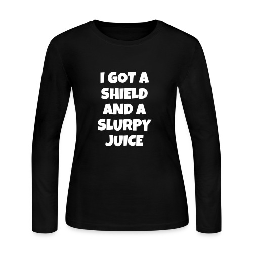 shield and slurpy - Women's Long Sleeve Jersey T-Shirt