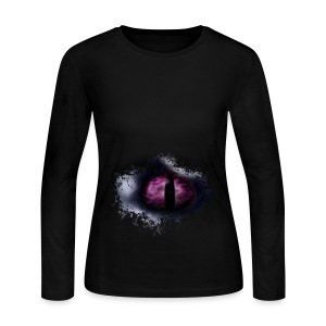 Dragon Eye - Women's Long Sleeve Jersey T-Shirt