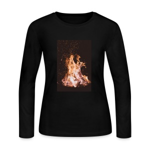 Fire! - Women's Long Sleeve Jersey T-Shirt