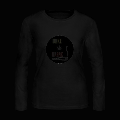 Bake Break Logo Cutout - Women's Long Sleeve Jersey T-Shirt