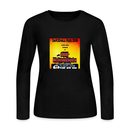 Dancehall plug tour Germany t-shirts TWG MUSIC - Women's Long Sleeve Jersey T-Shirt