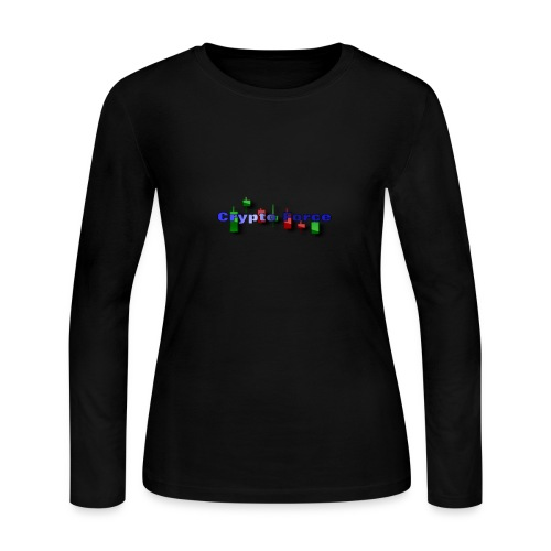 Crypto Force - Women's Long Sleeve Jersey T-Shirt
