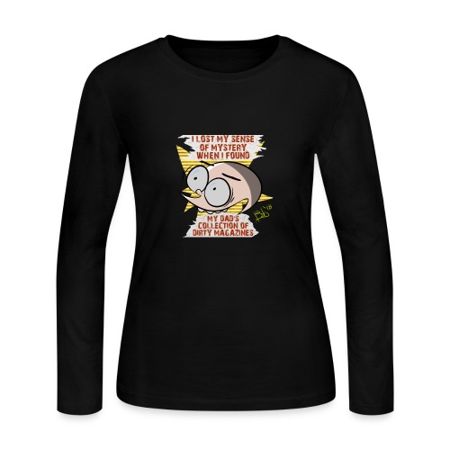 Sense of Mystery quote - Women's Long Sleeve Jersey T-Shirt