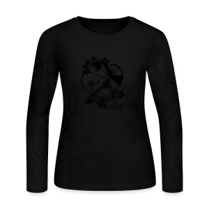 A SMILE is the prettiest thing-Ran Mori - Women's Long Sleeve Jersey T-Shirt