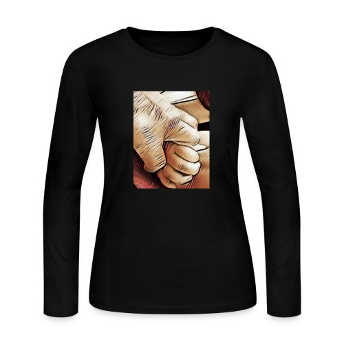 In time of need I'll hold your hand - Women's Long Sleeve Jersey T-Shirt