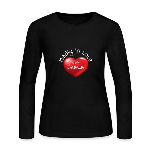 Madly In Love With Jesus - Women's Long Sleeve Jersey T-Shirt