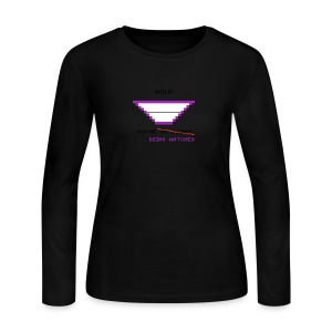 Smile! - Women's Long Sleeve Jersey T-Shirt