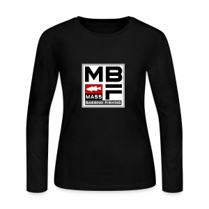 Mass Bassing Fishing - Women's Long Sleeve Jersey T-Shirt