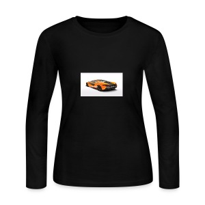 ChillBrosGaming Chill Like This Car - Women's Long Sleeve Jersey T-Shirt