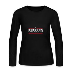 Blessed Tee - Women's Long Sleeve Jersey T-Shirt