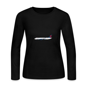 Delta Pooplines - Women's Long Sleeve Jersey T-Shirt