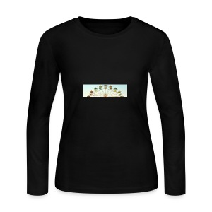 header_image_cream - Women's Long Sleeve Jersey T-Shirt