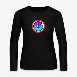 Galaxy Circle Logo - Women's Long Sleeve Jersey T-Shirt