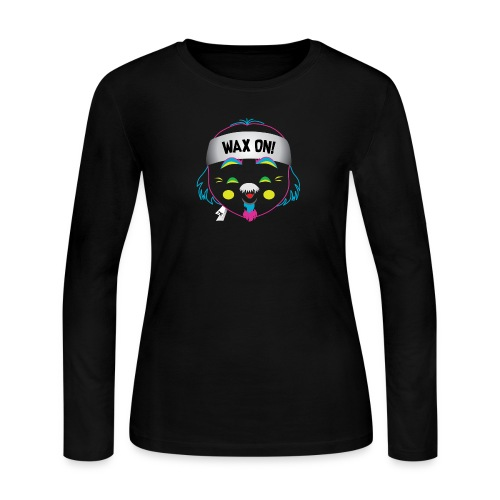 Wax On! Neon - Women's Long Sleeve Jersey T-Shirt