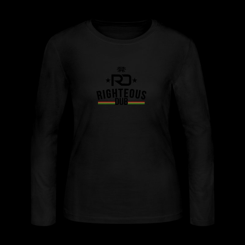 Righteous Dub Logo - Women's Long Sleeve Jersey T-Shirt