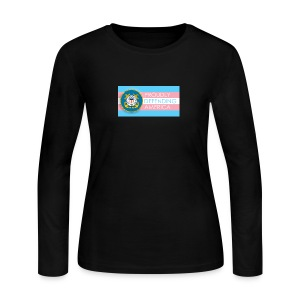 Transgender Coast Guard - Women's Long Sleeve Jersey T-Shirt