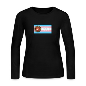 Transgender Marine - Women's Long Sleeve Jersey T-Shirt