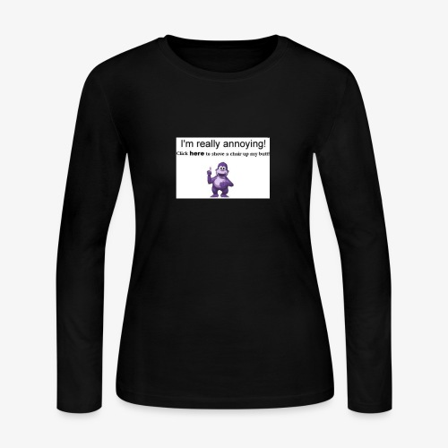 Meeme - Women's Long Sleeve Jersey T-Shirt