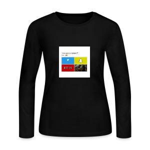 First shirt - Women's Long Sleeve Jersey T-Shirt
