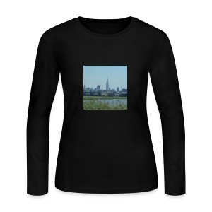 New York - Women's Long Sleeve Jersey T-Shirt