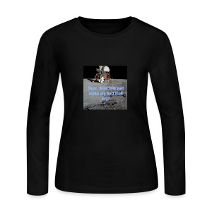 Does this Spacesuit make my butt look big? - Women's Long Sleeve Jersey T-Shirt