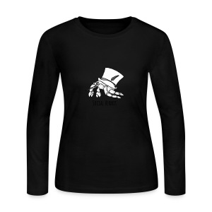 SocialHermit - Women's Long Sleeve Jersey T-Shirt