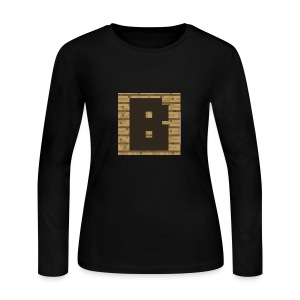 Brushykibbles - Women's Long Sleeve Jersey T-Shirt