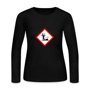 danger for the environment - Women's Long Sleeve Jersey T-Shirt
