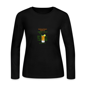 Schlong Island Iced Tea - Women's Long Sleeve Jersey T-Shirt