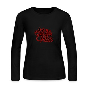 Stay True - Women's Long Sleeve Jersey T-Shirt