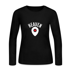 Heaven Is Right Here - Women's Long Sleeve Jersey T-Shirt