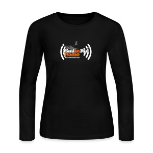 Paul in Rio Radio - Thumbs-up Corcovado #1 - Women's Long Sleeve Jersey T-Shirt