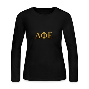 Good Ol Letters - Women's Long Sleeve Jersey T-Shirt