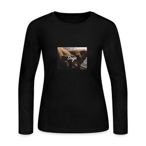Doge - Women's Long Sleeve Jersey T-Shirt