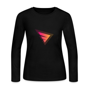 Logo IteX with another background logo - Women's Long Sleeve Jersey T-Shirt