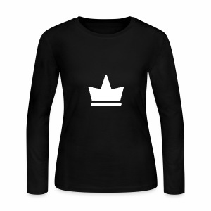 Kash Clothing Crown - Women's Long Sleeve Jersey T-Shirt